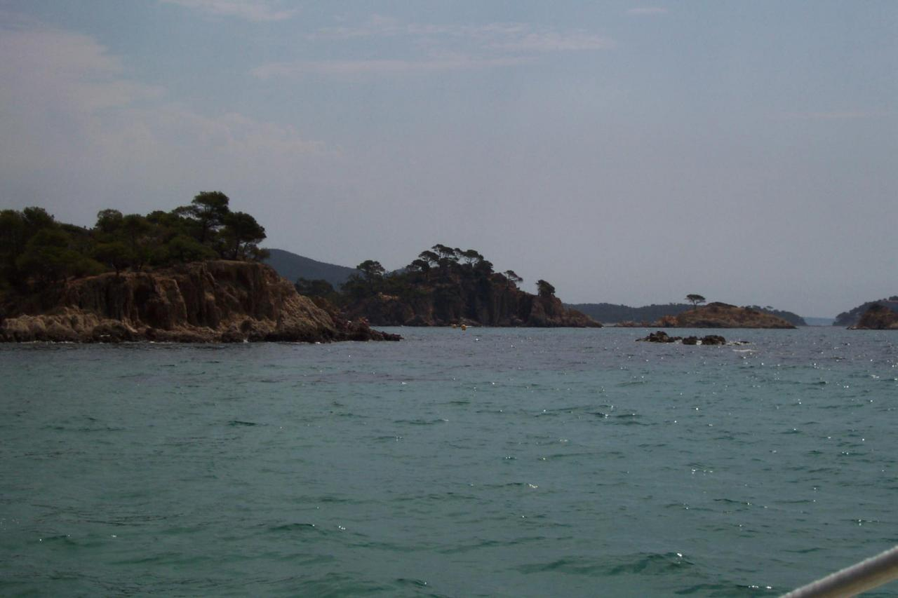 La côte entre l'ESTAGNOL et BREGANÇON
