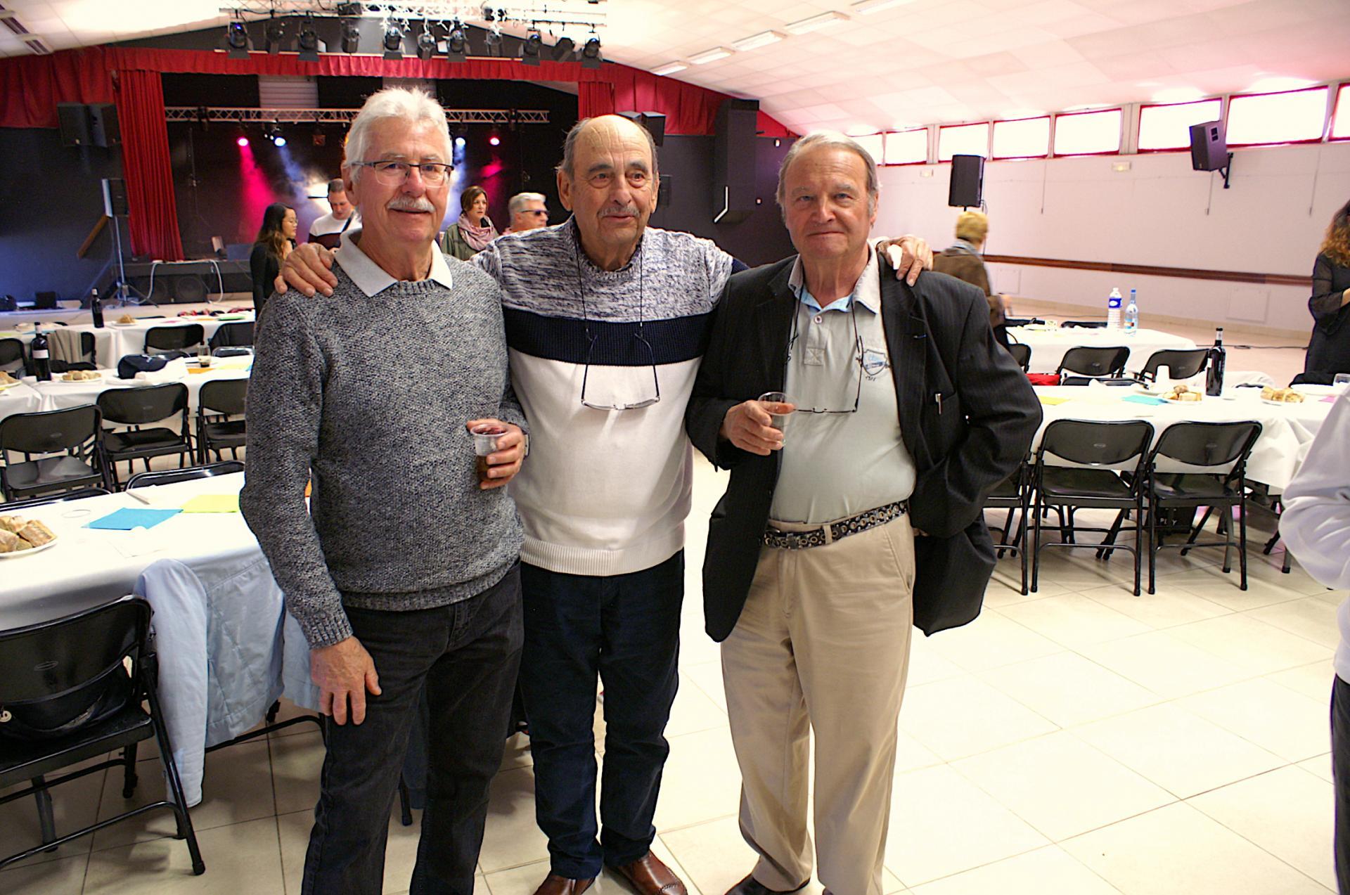 Jean-Georges, Antoine et Jean-Claude