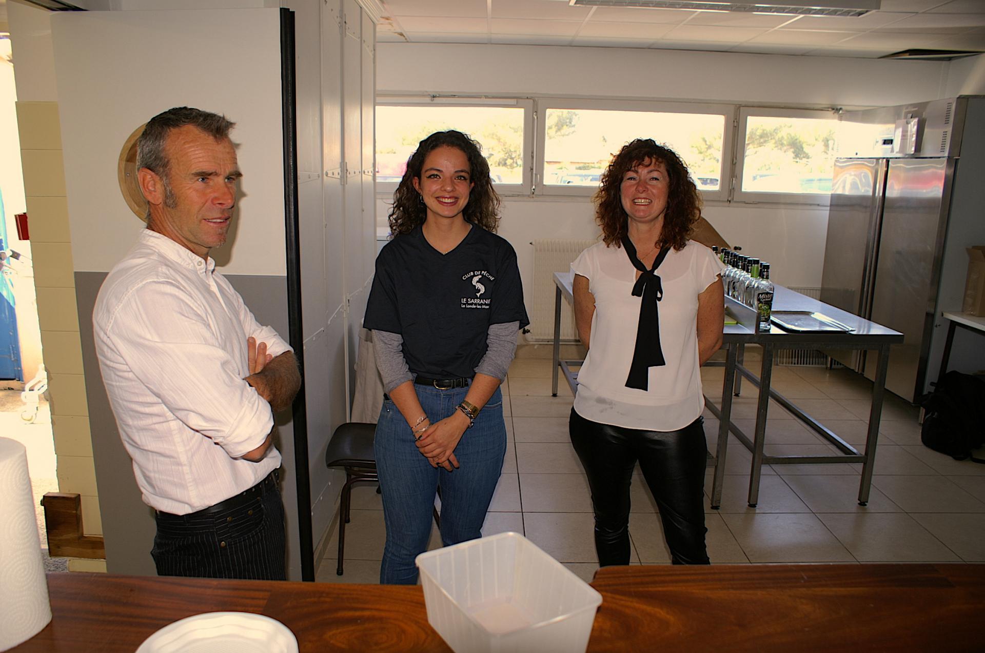 Chloé et l équipe de service nous gratifie d un beau sourire