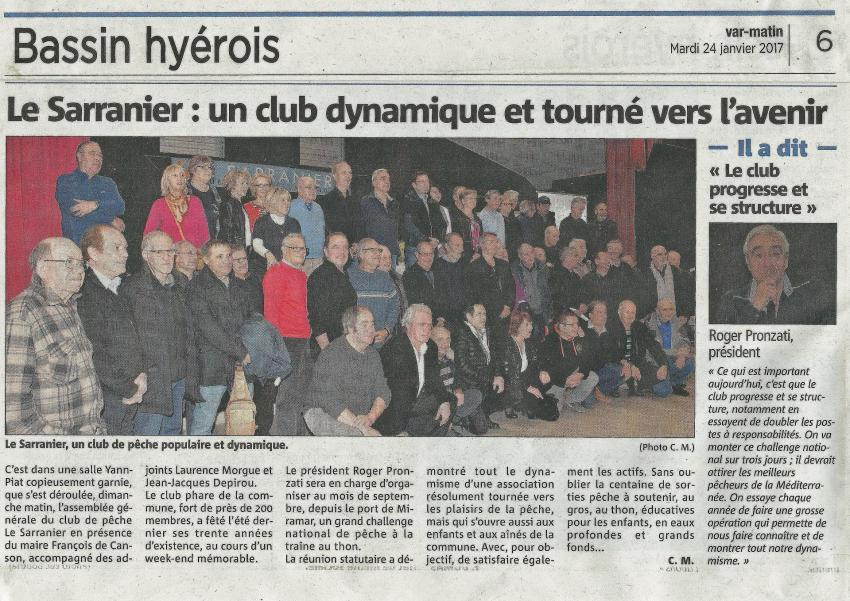2017 01 24 article de var matin