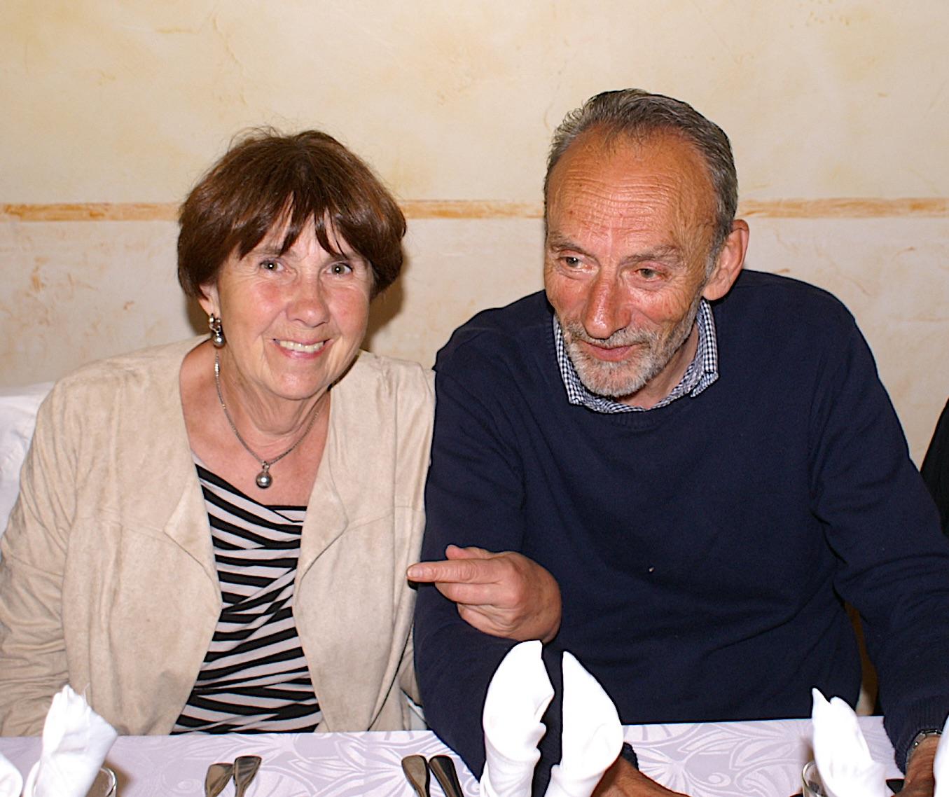 28 André Remion et son épouse
