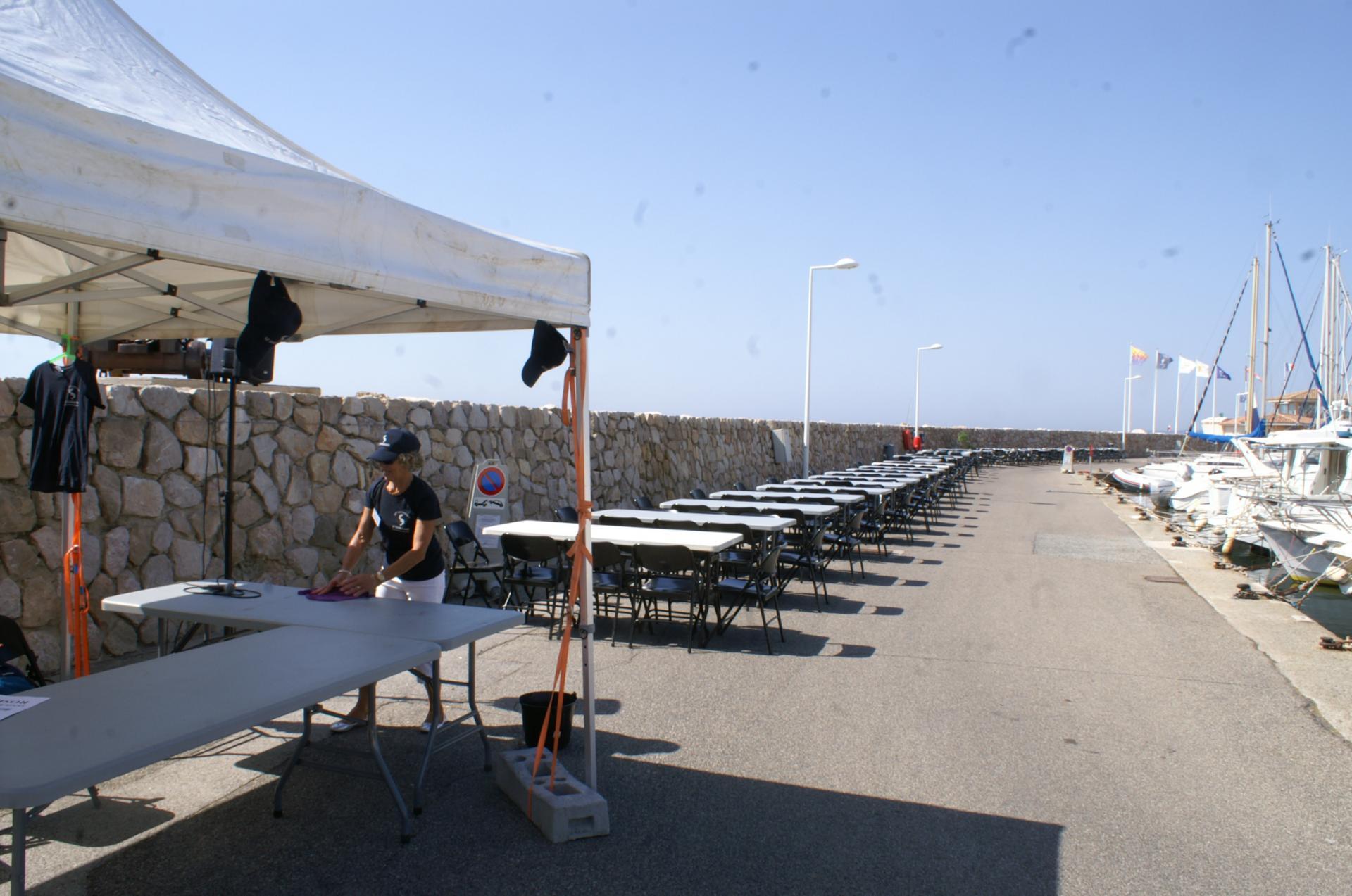 La mise en place des tables 2