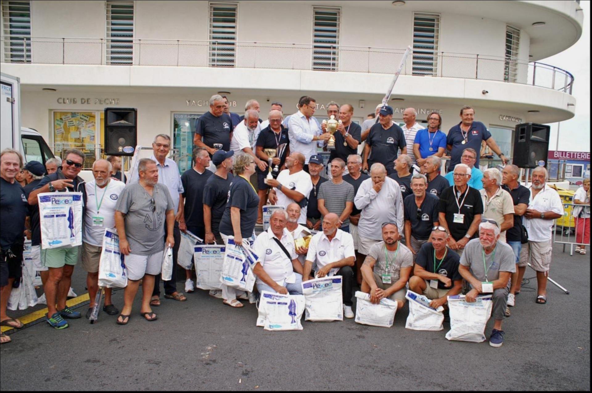 Tous les équipiers pêcheurs ont reçu leurs cadeaux